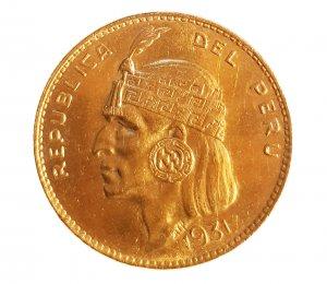 5 Soles 1931; AU; Gr.:33.5; ...