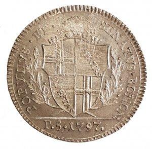 Scudo 1797 AG; Mont. 56, R