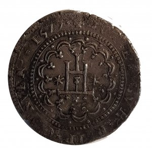 Quarto di Scudo 1577; AG; Gr: 9.0; ...