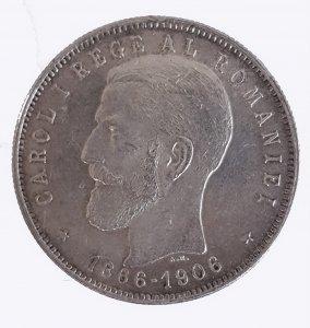 5 Lei 1906; AG; Gr.25,5; KM ...