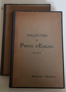 COLLECTION DU PRINCE D'ESSLING. ...