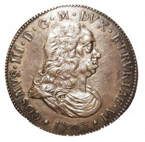 Piastra 1707, AG; MIR:65; R