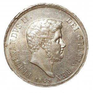 Piastra 1843; AG; Mont.:769; Ex ...