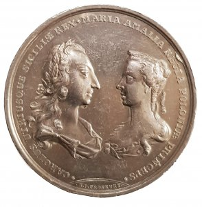 1738, Nozze tra Carlo di Borbone e ...